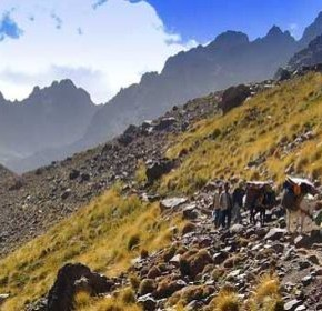 Toubkal, valleys and summit: Depart, October 8th.