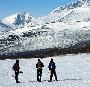 Snowshoeing, enjoy the winter in full