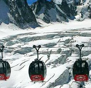 All Chamonix, trekking, peaks and glaciers in the French Alps