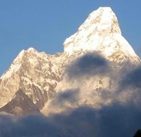 Sunset on Everest from Kala Pattar