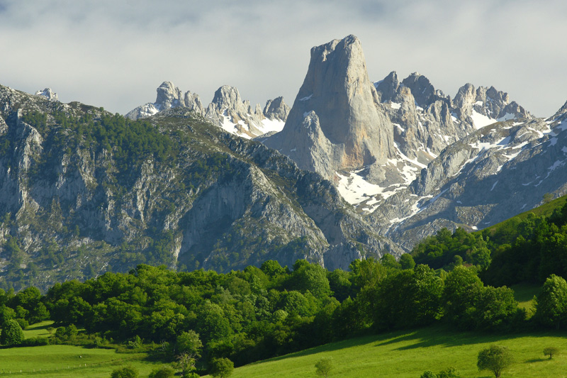 Urriellu National Park of the Picos de Europa