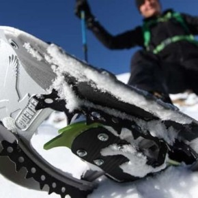 Snowshoes on the Pyrenees