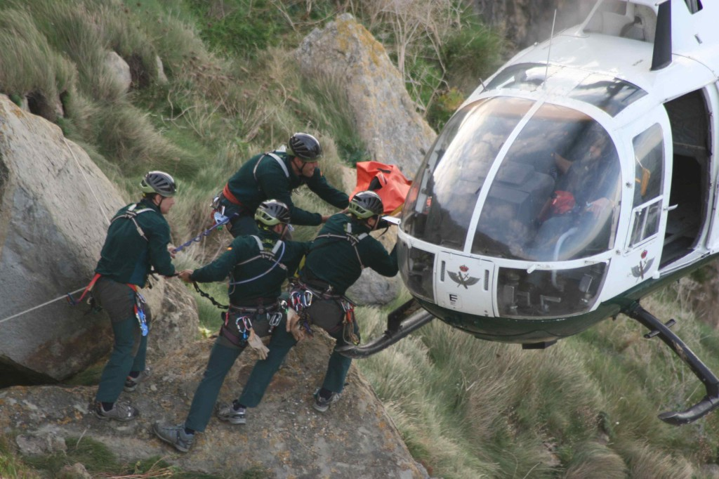 12 1024x682 Rescue Groups and Mountain Intervention of the Guardia Civil