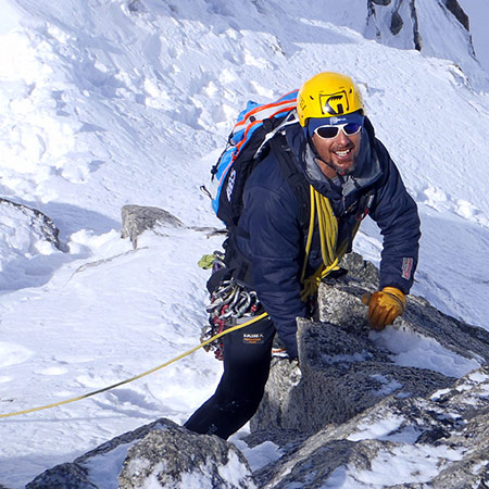 roman garcia The profesional mountain guide: enthusiasm, expertise and courage