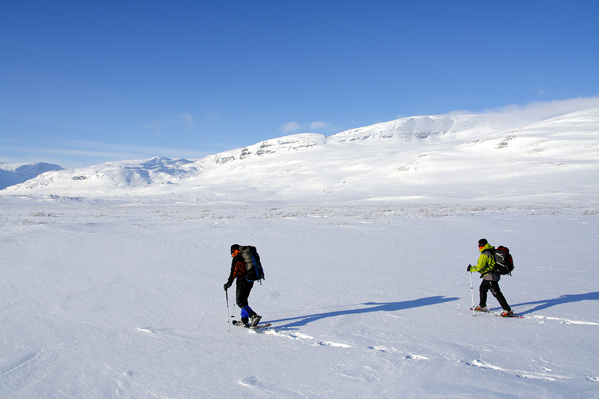 Snowshoeing over pristine snow is truly a wow experience.