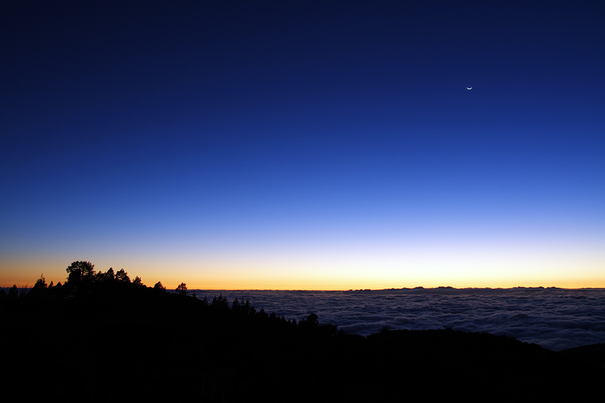 Unset in Teide National Park